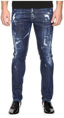 DSQUARED2 - Cool Guy American Pie Jeans in Blue Men's Jeans $560 thestylecure.com