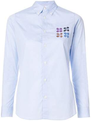 Visvim floral chest pocket shirt