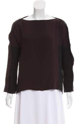 Maiyet Colorblock Long Sleeve Top w/ Tags