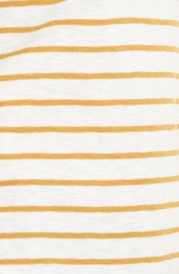 Women's Madewell Sound Ribbed Henley Tee 4