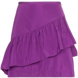 See by Chloe ruffle layer A-line mini skirt