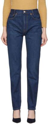 RE/DONE Blue Originals Academy Fit Jeans