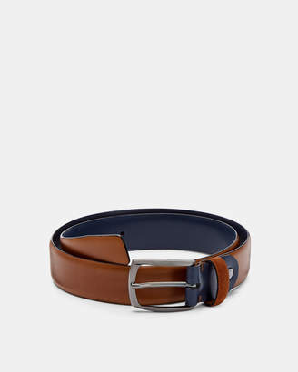 Ted Baker CUBES Suede detail belt