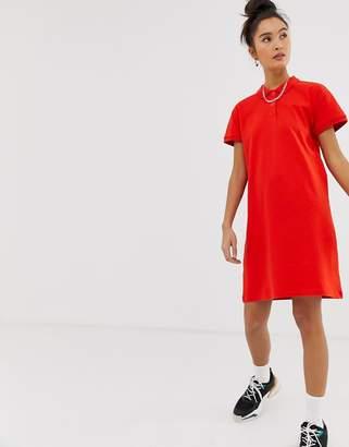 Noisy May polo mini dress