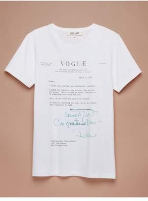 Diane von Furstenberg Vogue Tee