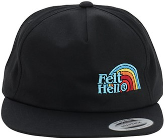 Felt For Every Living Thing FELT HELL EMBROIDERED CAP