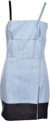 Fausto Puglisi Removable Strap Mini Dress