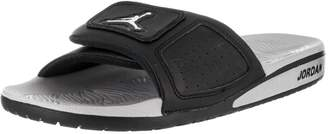 3c7b6446fdbeb1 Nike Jordan Men s Jordan Hydro III Retro Black Metallic Silver White Sandal  9 Men