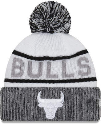 New Era Chicago Bulls Court Force Pom Knit Hat