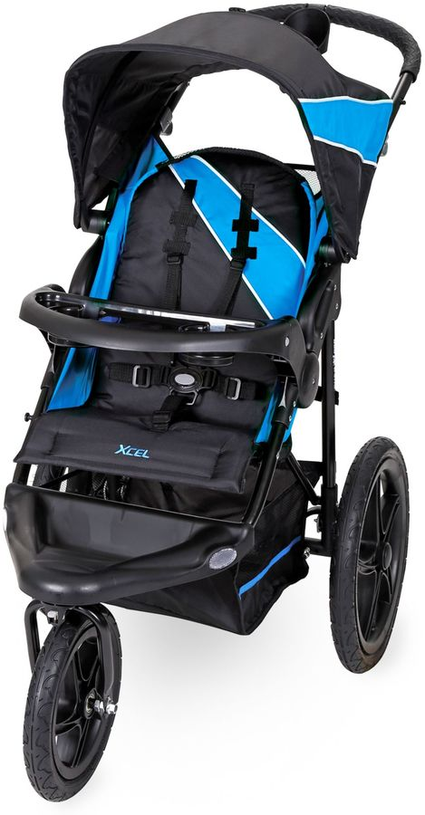 Baby Trend Baby Trend® Xcel Jogger Stroller in Mosaic Blue