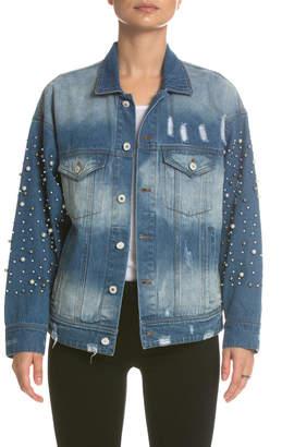 Elan International Pearl Sleeved Jacket