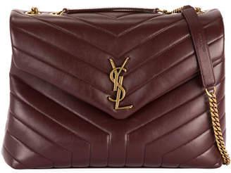 84e38989e8e Saint Laurent Loulou Leather Shoulder Bag