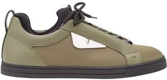 Fendi Bag Bugs-appliqué sneakers