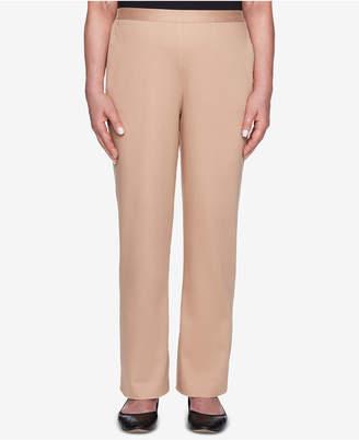 Alfred Dunner Petite Travel Light Pull-On Pants