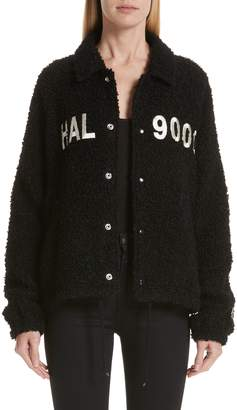 Undercover HAL 9000 Wool & Mohair Blend Jacket