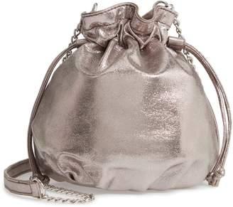 Chelsea28 Phoebe Mini Metallic Bucket Bag