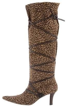 Walter Steiger Ponyhair Knee-High Boots