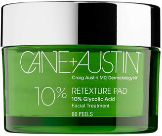 Cane + Austin Retexture Pad 10% Glycolic Facial Treatment