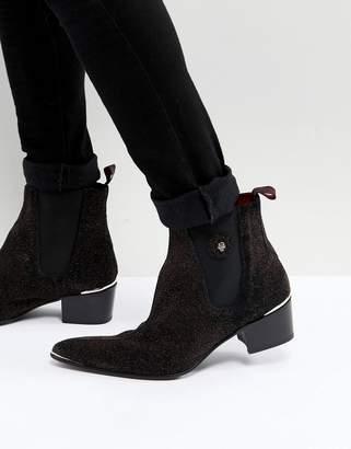 Jeffery West Sylvian Glitter Boots