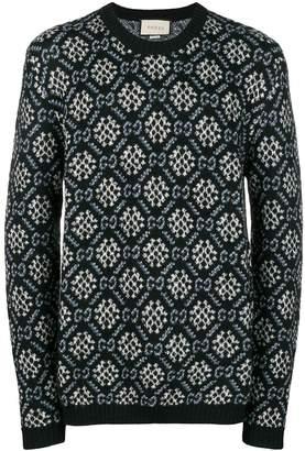 Gucci Wool Crew Neck Sweater