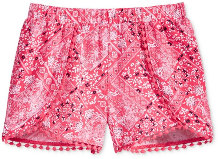 Epic Threads Mix and Match Bandana-Print Shorts, Toddler and Little Girls (2T-6X), Created for Macy's