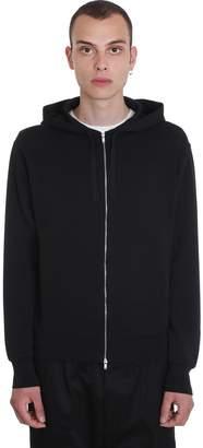 Jil Sander Sweatshirt In Black Polyester