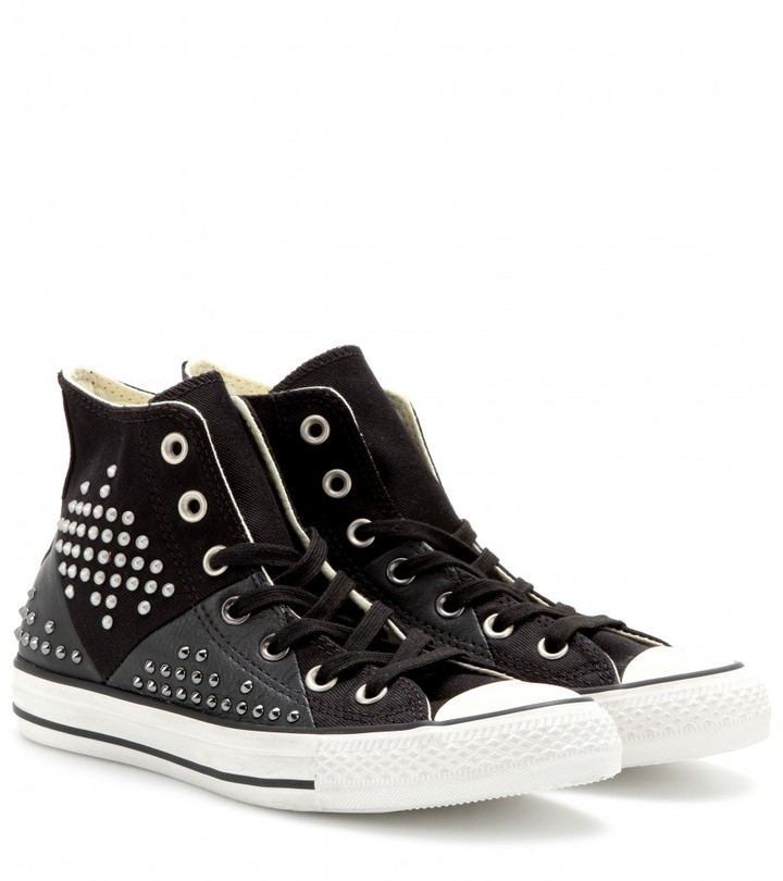 Converse Chuck Taylor All Star High studded sneakers