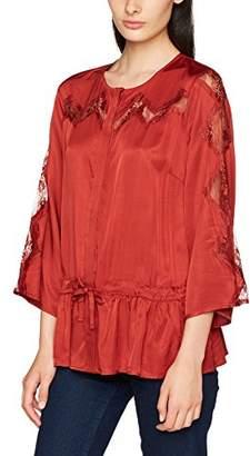 Gestuz Women's Ann Blouse AO17 Long Sleeve Top,(Manufacturer Size: 38)