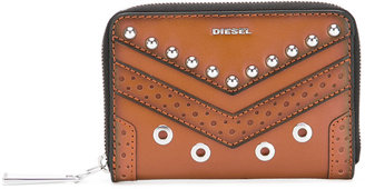 Diesel studded logo wallet $146.99 thestylecure.com