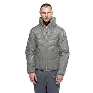 Calle jugar: Men's Goose Down Filled Puffer Jacket. . L