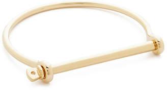 Miansai Thin Screw Cuff Bracelet $195 thestylecure.com