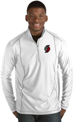 Antigua Men's Portland Trail Blazers Tempo Quarter-Zip Pullover