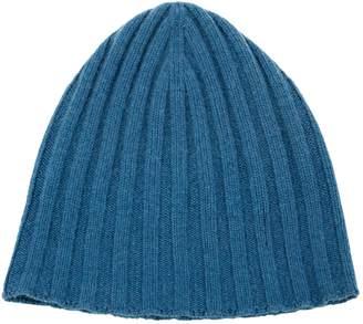 Dolce & Gabbana Blue Cashmere Hats