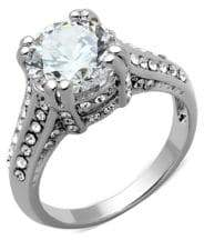 Michela Estate Crystal and Cubic Zirconia Ring