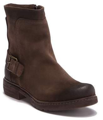 Manas Design Biker In Suede Con Fibba Boot