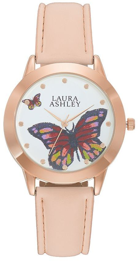Laura AshleyLaura Ashley Women's Butterfly Watch