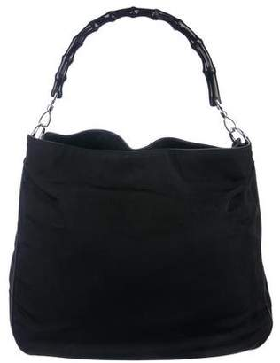 212c4020208 Gucci Bamboo Handle Handbag - ShopStyle