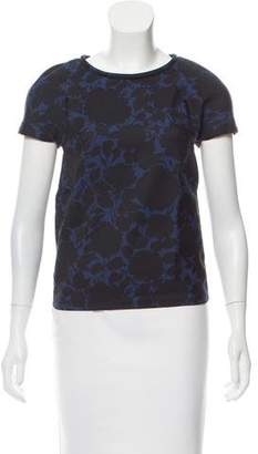 Marc by Marc Jacobs Print Short Sleeve Top