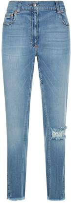 Magda Butrym Nelsonville Distressed Jeans