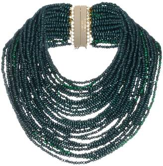 Rosantica green Sogno beaded necklace