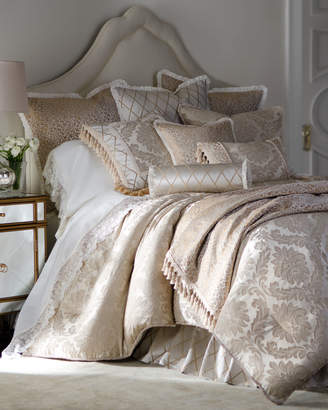 Isabella Collection By Kathy Fielder Darby Queen Damask Duvet Cover