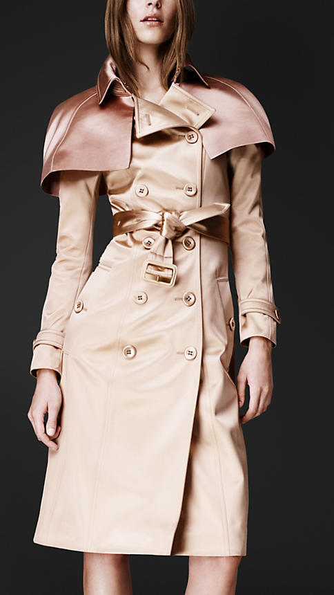 Burberry Caped Trench Coat