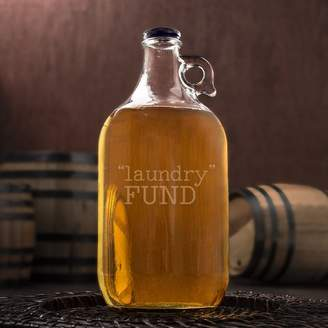 """Cathy's Concepts Cathys Concepts """"Laundry"""" Fund Glass 64 oz. Growler"""