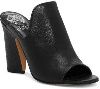 93e727b83b1 Vince Camuto Women s Gerrty Peep Toe High-Heel Leather Mules