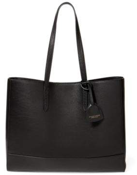 Ralph Lauren Luxe Calf East-West Tote Black One Size