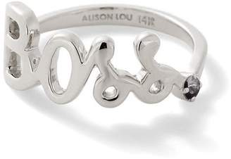 Alison Lou Boss Ring