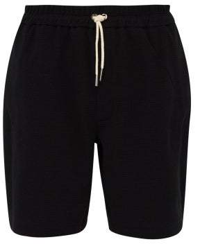Jil Sander Satin Trim Cotton Blend Shorts - Mens - Black
