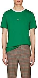 """Helmut Lang Men's """"Taxi"""" Cotton T-Shirt - Green"""