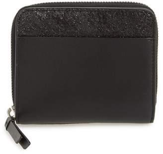 AllSaints Mast Shine Leather Wallet