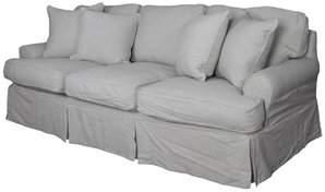 August Grove Callie T-Cushion Sofa Slipcover Set